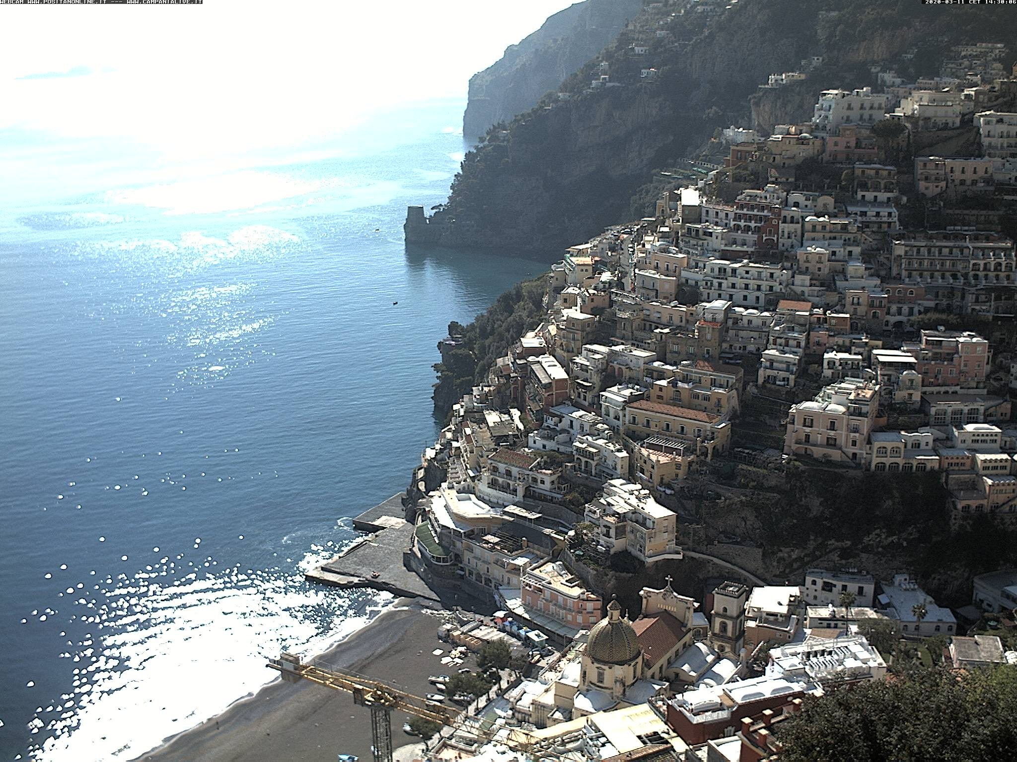 Webcam di Positano (SA)